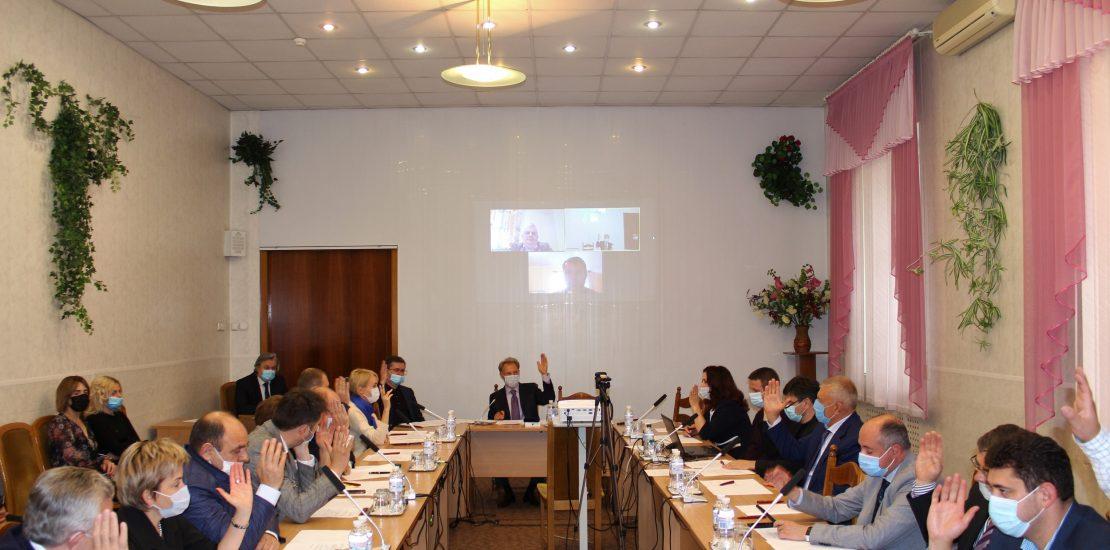 Засідання оновленого складу Керівної ради Світового конгресу українських юристів